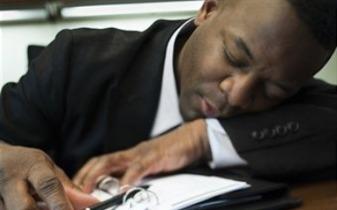 man sleeping 2